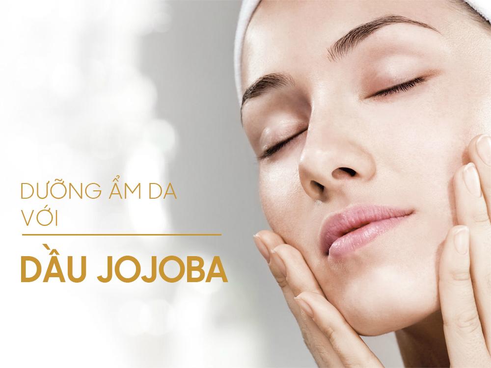 Dưỡng ẩm da với dầu jojoba