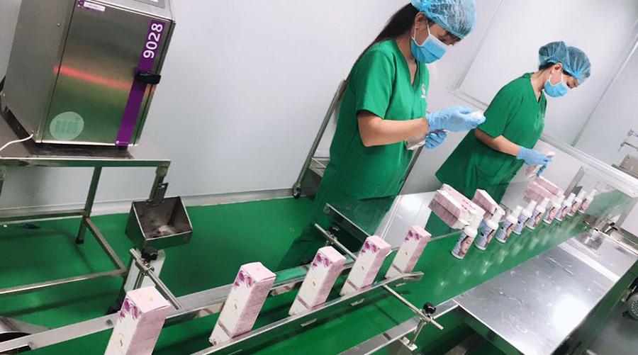 Nhà máy sản xuất mỹ phẩm - thực phẩm chức năng