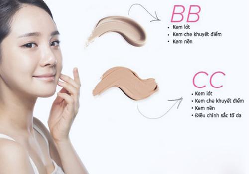 BB Cream và CC Cream