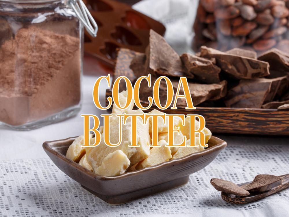 Bơ ca cao (cocoa butter) và tác dụng chăm sóc da mặt
