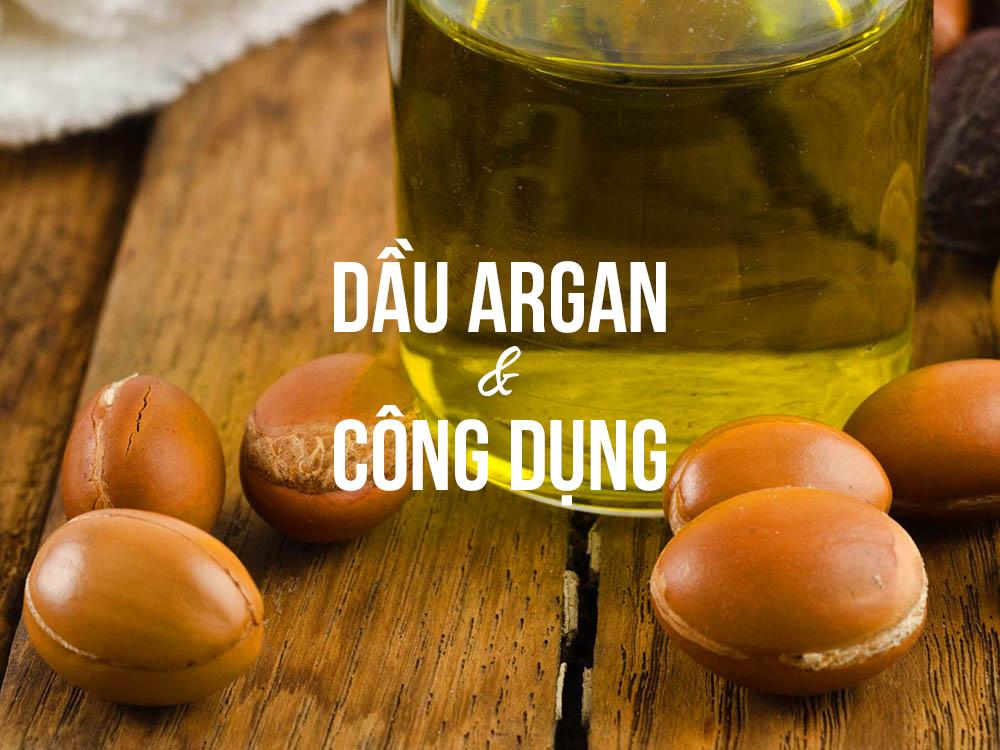 dầu argan và công dụng trong làm đẹp