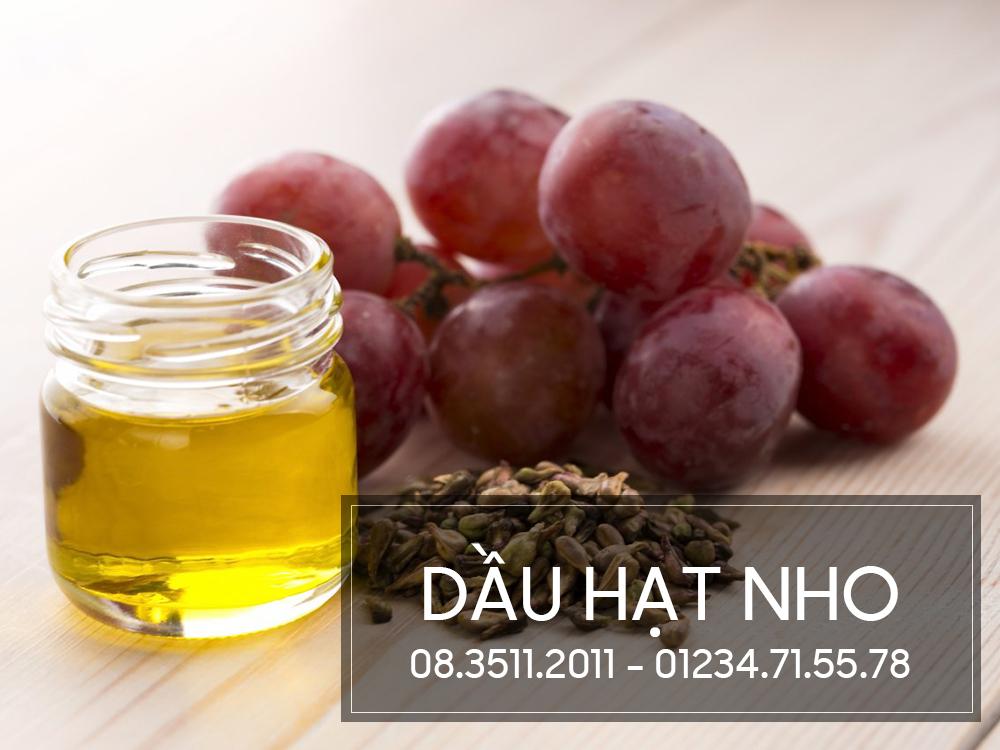 Dầu Hạt Nho Grape seed oil