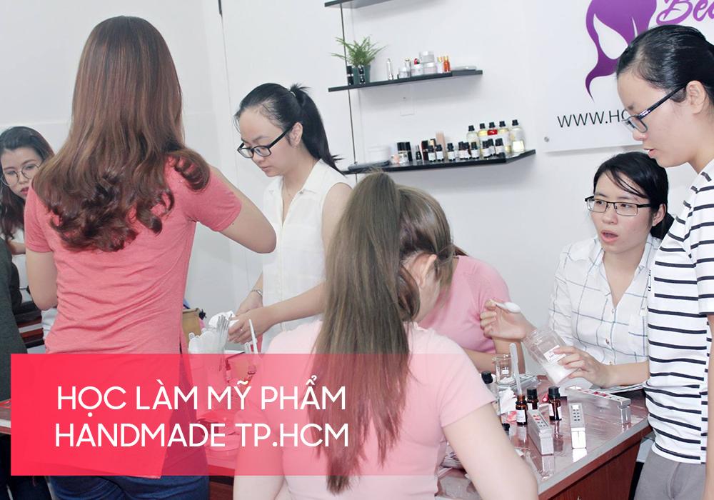 Học làm mỹ phẩm handmade TPHCM