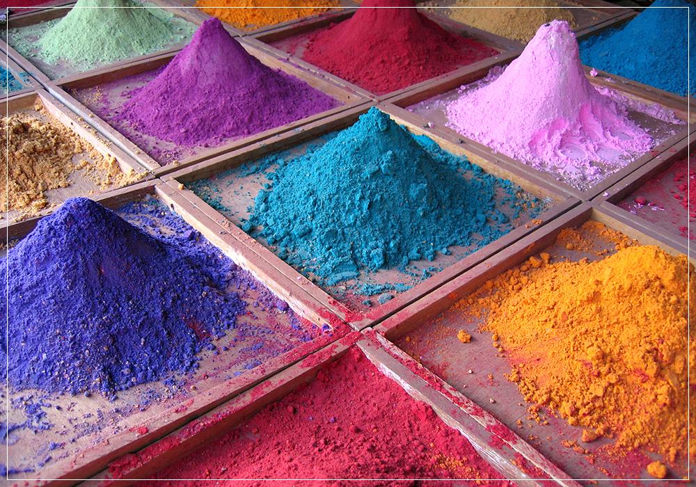 Màu khoáng Mỹ – Nguyên liệu làm mỹ phẩm