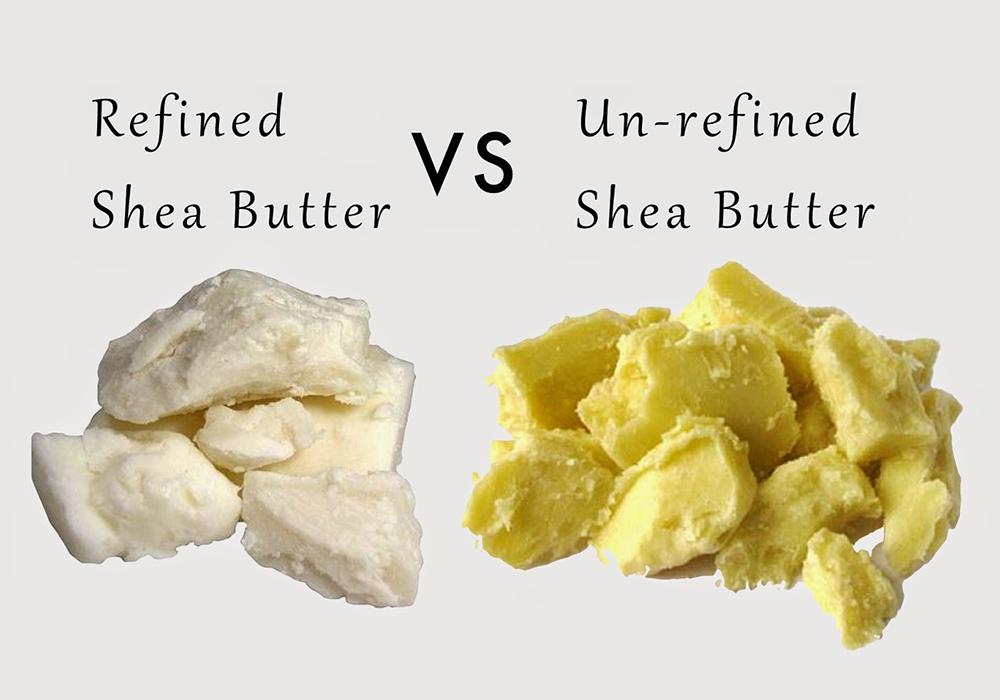 Phân biệt bơ shea thô và bơ shea đã qua tinh chế