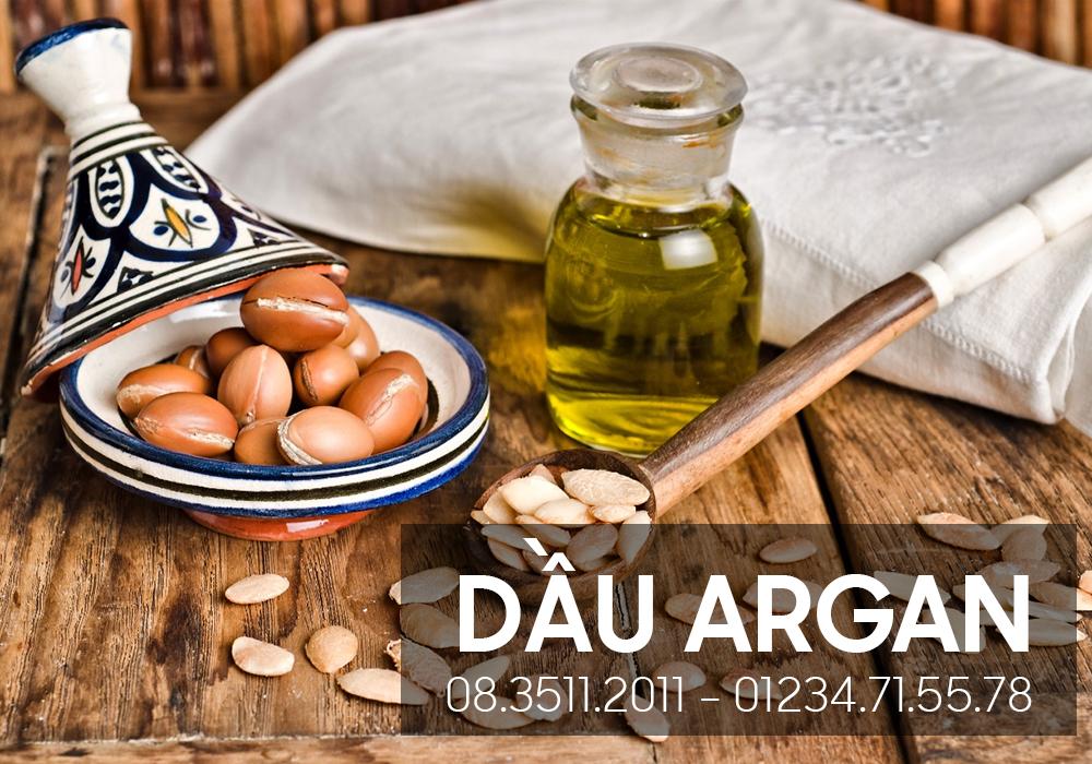 Ứng dụng của dầu argan